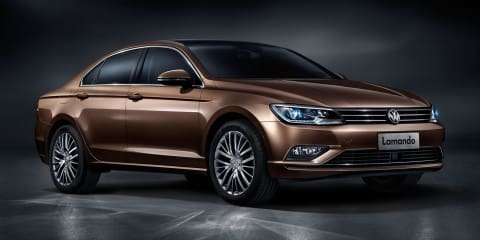 "Volkswagen Lamando: Jetta-size four-door ""coupe"" revealed in China"