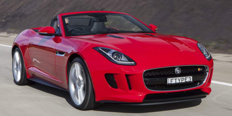 Jaguar F-Type on sale from $138,645