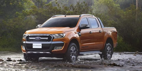 2015 Ford Ranger Wildtrak revealed