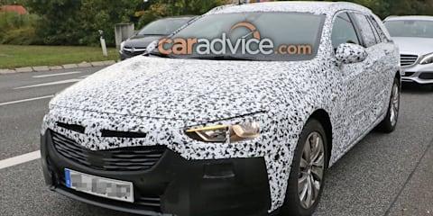 2018 Holden Commodore Sportwagon spied again