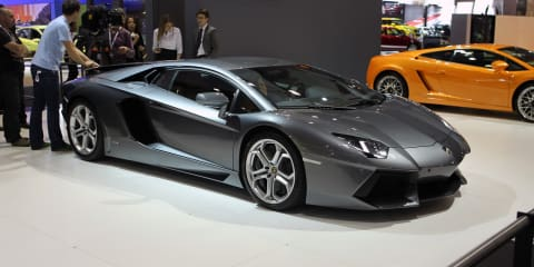 Lamborghini Aventador LP700-4 at Australian International Motor Show 2011