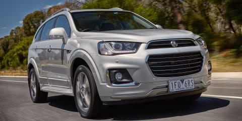 2016 Holden Captiva revealed: Captiva 5 gone, Apple CarPlay and Android Auto in