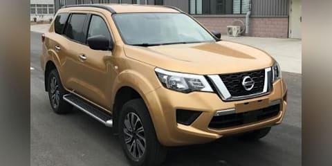 2018 Nissan Terra: Navara SUV leaked in China