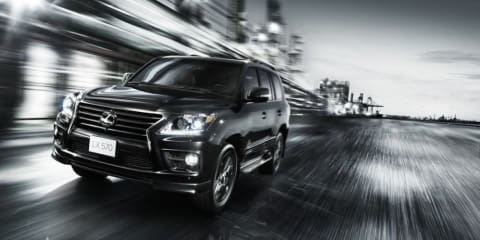 Lexus LX570 Supercharger edition revealed