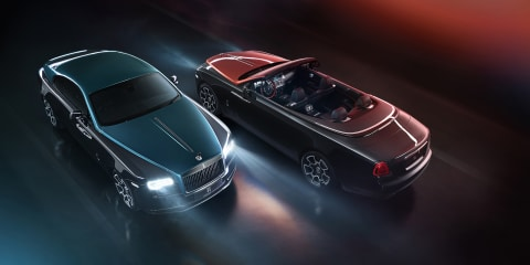 Rolls-Royce Adamas Collection: Darker, meaner specials revealed