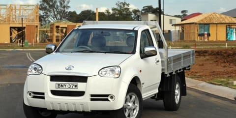 2010 Great Wall V240 single cab on sale in Australia