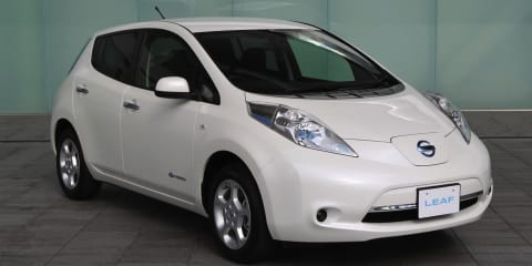 2013 Nissan Leaf gets increased range, lighter weight, added features