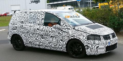 2015 Volkswagen Touran spied