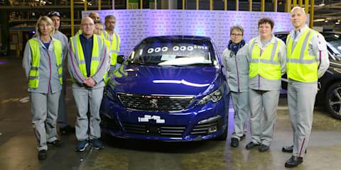 Peugeot 308 hits 1 million units