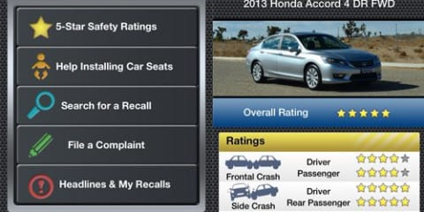 NHTSA unveils SaferCar app for iPhones