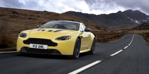 Aston Martin V12 Vantage S: 423kW supercar revealed