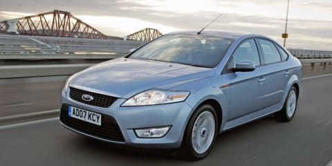 2009 Ford Mondeo tri-fuel for Europe