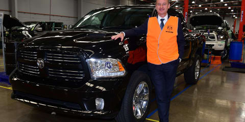 Ram 1500: First ute rolls off Aussie production line