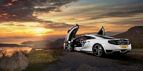 McLaren 12C-based concept revealed