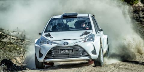 Toyota Yaris: Road car v Rally car