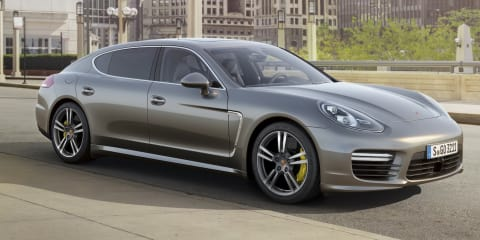 Porsche Panamera Turbo S: 420kW flagship sedan here in February