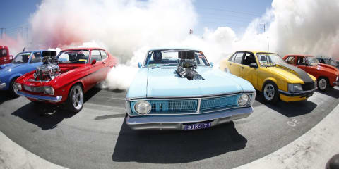 Summernats fries 138 tyres in official Guinness World Record burnout video
