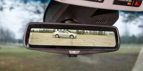 Cadillac CT6 to debut live streaming rear view mirror