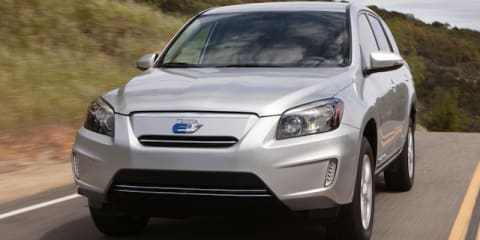 Toyota RAV4 EV: California-only electric SUV revealed