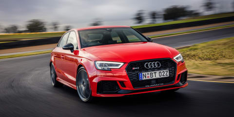 Audi RS3 sedan and hatch return delayed until 2020