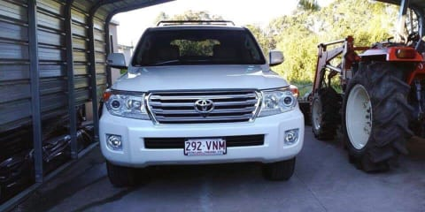 2015 Toyota Landcruiser Sahara (4x4) review