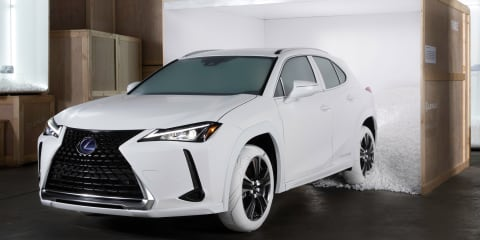 Lexus 'Sole of UX' revealed in New York