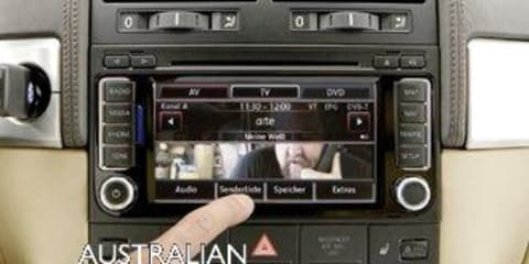 Volkswagen RNS 510 Radio Navigation for Touareg
