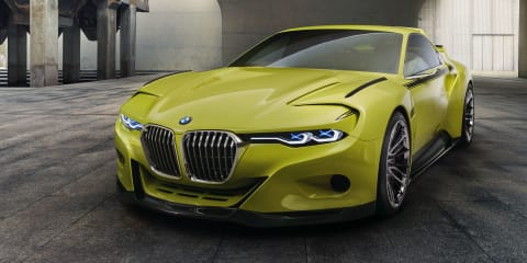 BMW 3.0 CSL Hommage unveiled