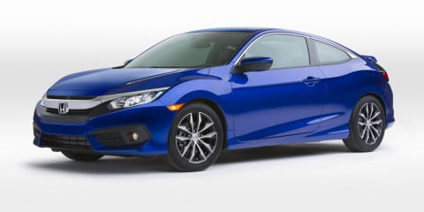 2016 Honda Civic coupe revealed, Australian debut unlikely