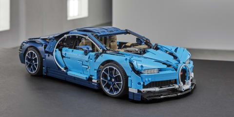 Bugatti Chiron gets the Lego treatment