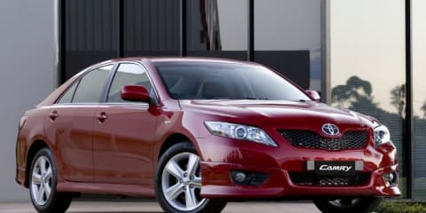 Toyota to export 500,000th Australian-made Camry