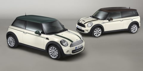 2012 Mini Hyde Park and Mini Green Park: special editions bound for Oz