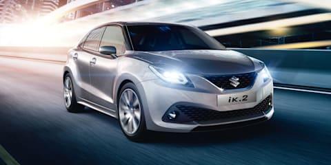 Suzuki iK-2 concept previews 2016 compact hatchback