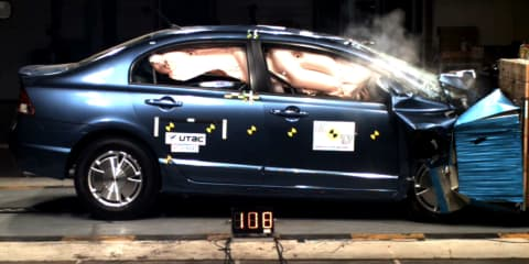 Passive Car Safety Systems - A Passive Attack!