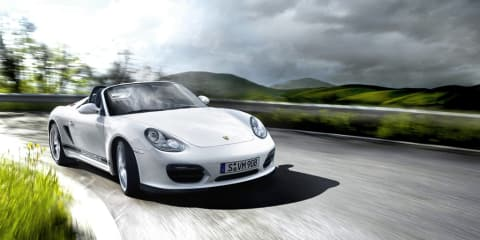 Porsche four-cylinder turbo engine under development