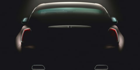 Rolls-Royce Wraith rear end teased