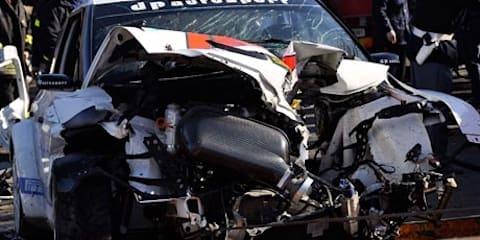 Robert Kubica Lotus Renault F1 driver seriously injured