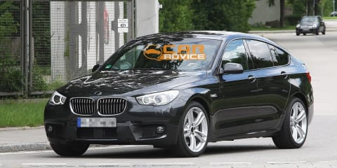 2012 BMW 5 Series GT M Sport spy shots