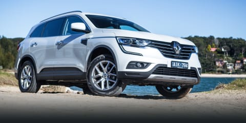 2018 Renault Koleos pricing and specs
