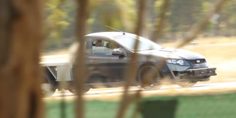 Ford Falcon Ute : Potential high-power variant spied testing — UPDATED