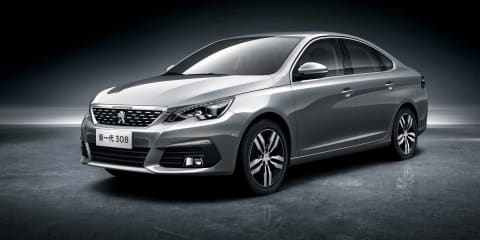Peugeot 308 sedan, 3008 facelift revealed for Chinese market