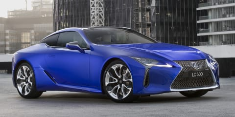 Lexus LC Morphic Blue Limited Edition arrives from $192,500