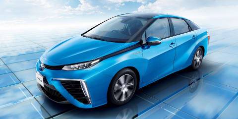 Toyota Mirai hydrogen fuel-cell vehicle detailed in full