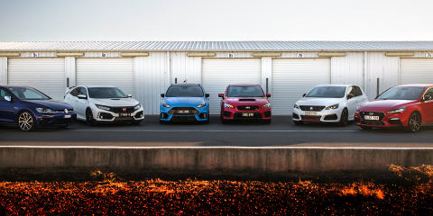 2018 Hot Hatch comparison video, part 1: Track