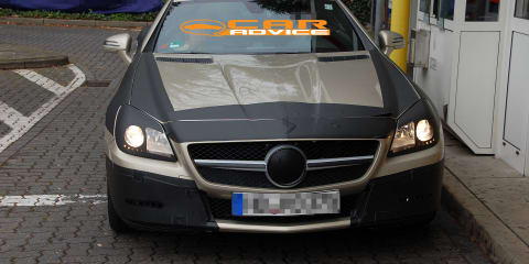 2011 Mercedes-Benz SLK new spy shots inside and out