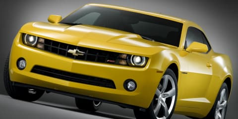 Chevrolet Camaro bound for European market