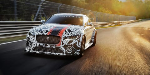 Jaguar XE SV Project 8 teased ahead of June 28 reveal - UPDATE
