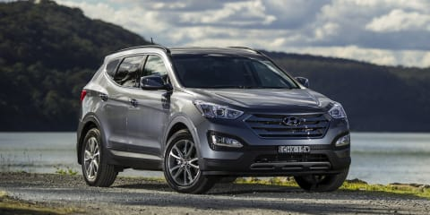 Hyundai Santa Fe: heavy duty towing kit boosts down ball rate to 150kg
