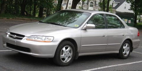 2001-02 Honda Accord, Civic facing airbag recall