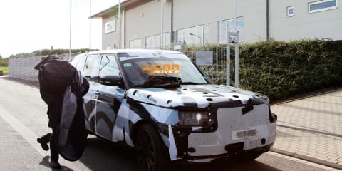 2013 Range Rover spy photos
